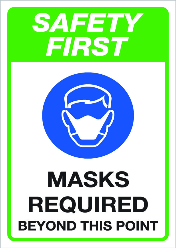 covid19 - masks required
